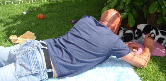 Bernd : vorsichtges Wecken