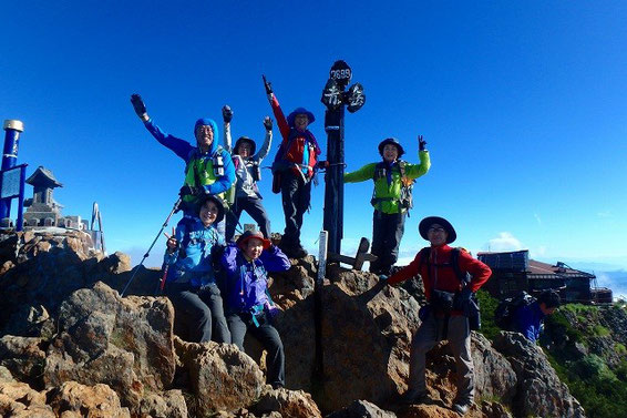 赤岳(2899.2m)