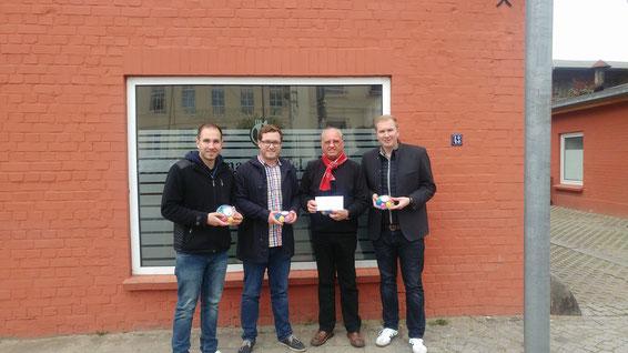 Spendenübergabe von der CDU Wismar  an die Wismarer Tafel im Jahr 2017