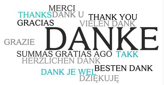 Danke Fürs Zuhören Englisch