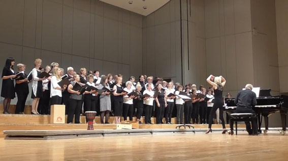 Projektchor Sängerschulung Münnerstadt - Liederhalle Stuttgart am 29. Mai 2016, Leitung: Ilona Seufert