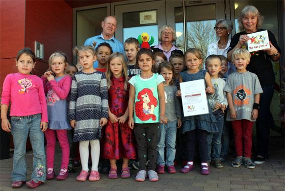 Kindergarten Marienau Werneck, Leitung: Gaby Brand - Verleih. Sept. 2016