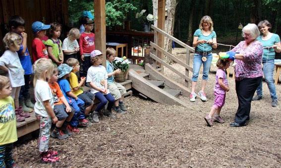 Caruso für den Waldkindergarten Gerolzhofen - Mai 2017