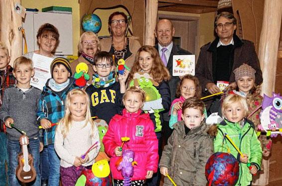 Kindergarten St. Josef Röthlein - Caruso-Verleihung November 2016