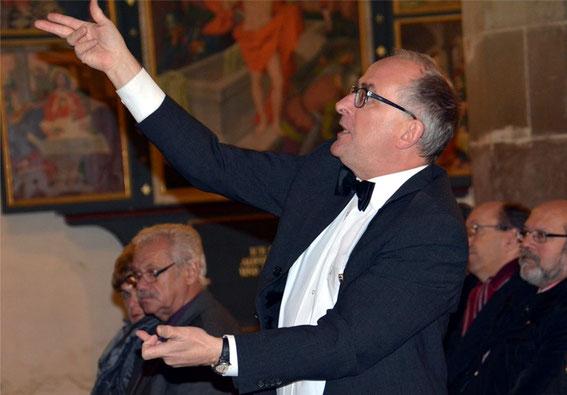 stellv. Bundeschorleiter Heinz Pallor - Gedächtnissingen Bad Königshofen - 2016