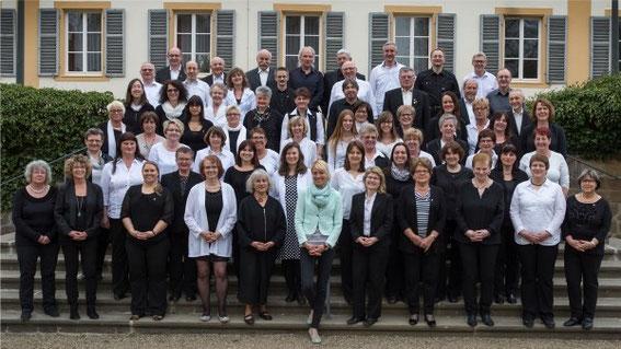 Teilnehmer -Deutsches Chorfest 2016- Projektchor Sängerschulung Münnerstadt, Leitung: Ilona Seufert