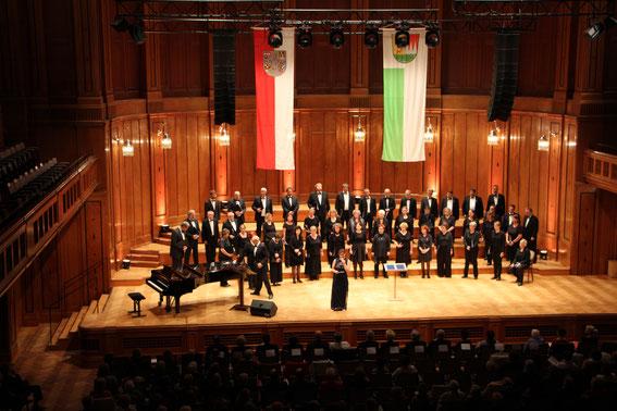 Mixtura Cantorum - im Max-Littmannsaal, Bad Kissingen - Leitung: Karl-Heinz Malzer - 16.09.2017