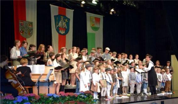 Kinder- / Jugendchor Eltmann - Leitung: Sonja Wißmüller - Bundesversammlung Grafenrheinfeld 2016