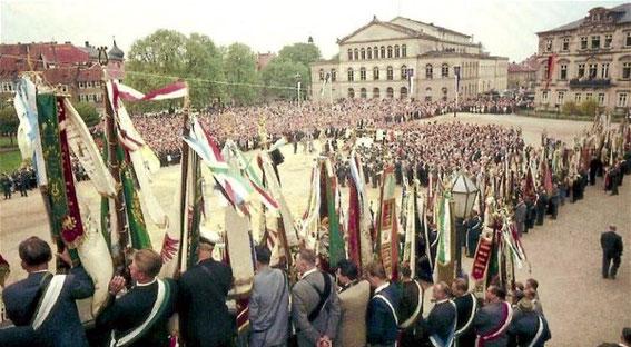 100-jähriges Jubiläum - Deutscher Sängerbund - in Coburg - 1962