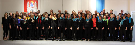 Projektchor Sängerschulung Münnerstadt 2020 -Leitung Mirja Betzer -Foto Elmar Brehm