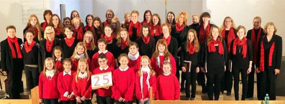 2014 - 25 Jahre Kinder- und Jugendchor Mellrichstadt