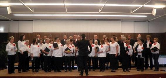 Chorreise Steiermark - Chor unseres Sängerkreises - Leitung: Bernhard Oberländer - 2015