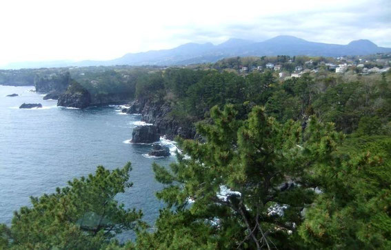 Itō - Jogasaki Kaigan - la côte