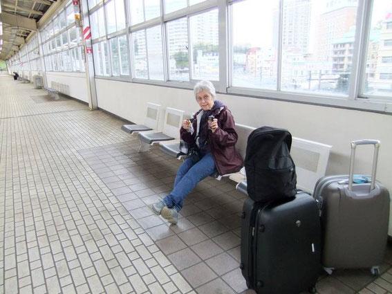 Atami : petit-déjeuner sur le pouce en attendant le Shinkansen !