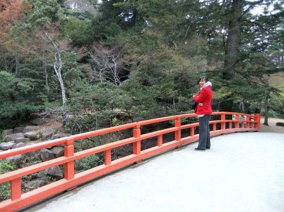Le pont de Momijidani
