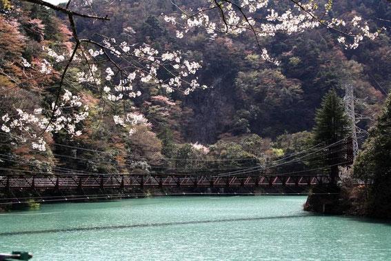Les eaux de la Ōigawa à Ichishiro Station