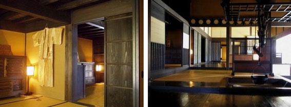 Honjin : intérieur (photos Nagiso Town) http://www.town.nagiso.nagano.jp