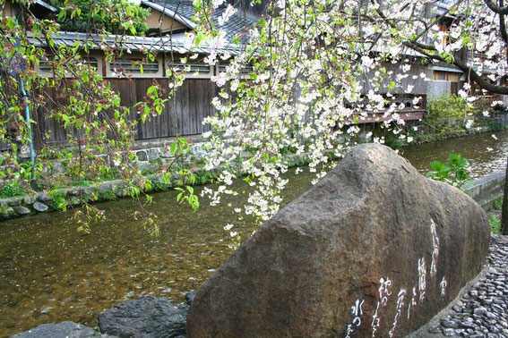 Le long du canal shirakawa