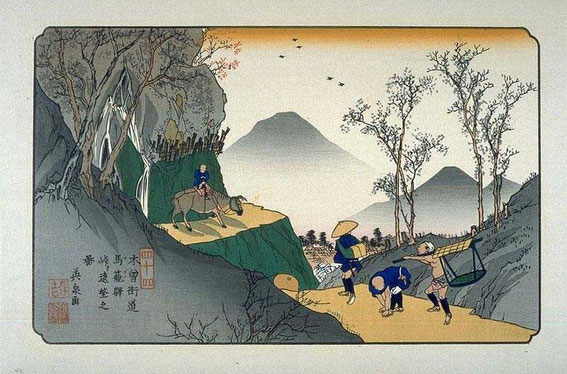 ukiyo-e Magome
