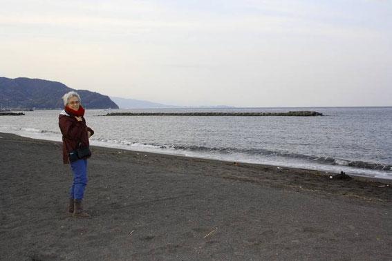 La plage de Itō Orange Beach !