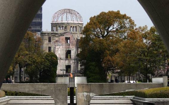 La flamme de la Paix : elle fut allumée le 1er août 1964