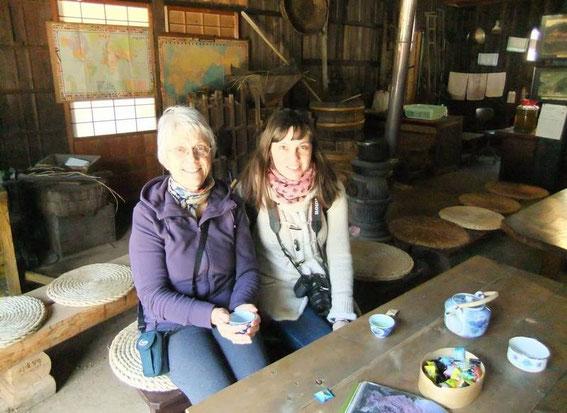 Pause thé vert et bonbons... à la Tateba-chaya