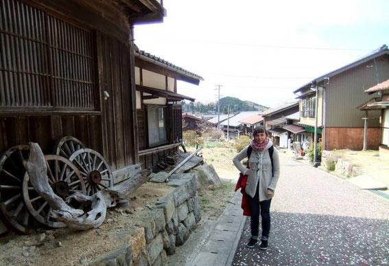 Traversée du village de Magome-Tōge