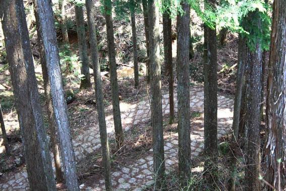 Les pavés de la Nakasendō