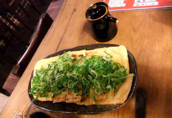 Tofu grillé avec la sauce de soja maison