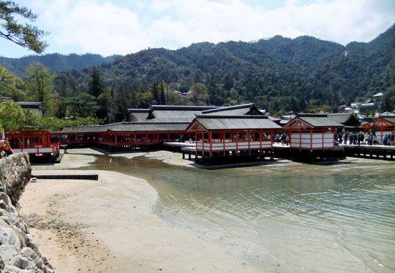 Le sanctuaire shinto d'Itsukushima, patrimoine mondial de l'UNESCO
