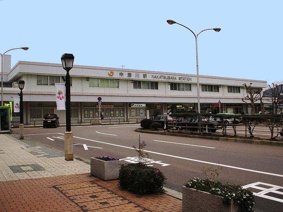 La Gare de Nakatsugawa  中津川