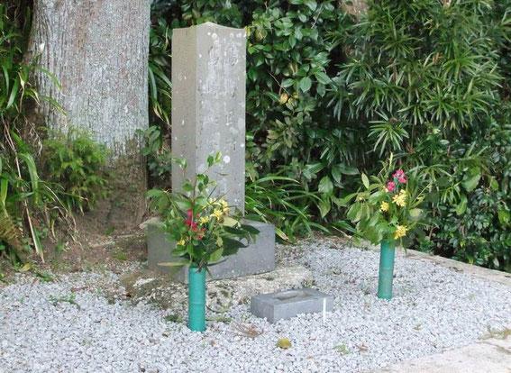 Tombe de Shimazaki Tōson (ou simplement de sa famille ?)