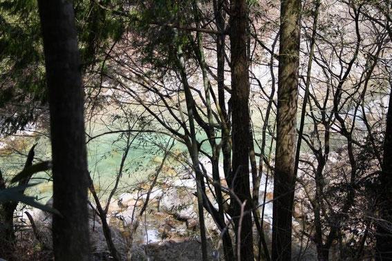 Les eaux bleues de la Araragi-gawa
