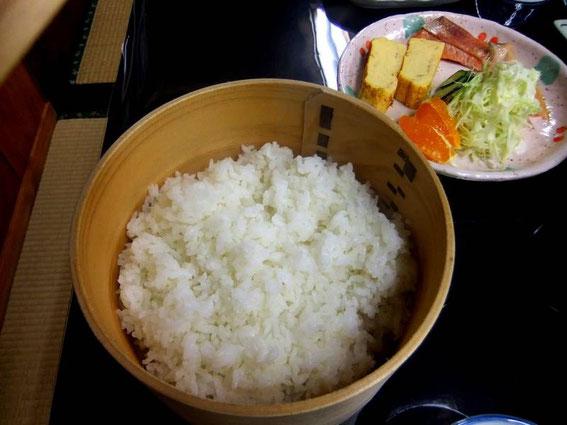 Le bon riz cultivé par notre hôte !