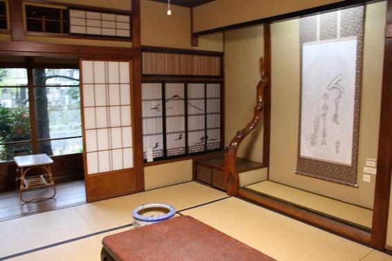 Chambre traditionnelle et sa terrasse