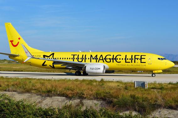 Frühes Aufstehen lohnt sich eben doch- die Magic Life auf dem Rückflug nach STR, 19.05.16 08:15 h Rhodos