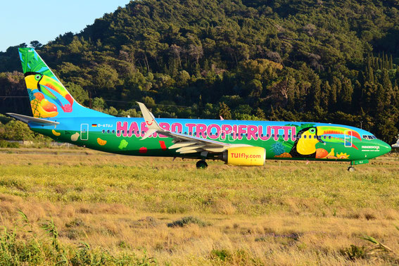 D-ATUJ 30.04.15 RHO-DUS. The green exotic jungle plane is ready for take off.