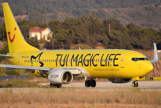 """""""Tui Magic Life"""" am 30.08.16 um 18:45 h pünktlich im Start auf Rhodos"""