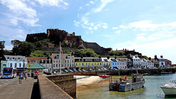 Gorey with the castle