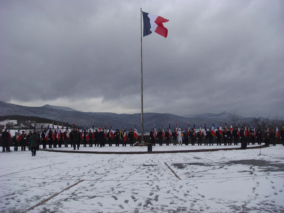 Sigolsheim, 1. February 2015 - 70th Anniversary of the Liberation