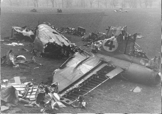 """Dottie"" in pieces Feb. 27, 1945"