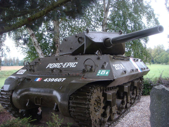 "Marc Samin  (passed away in 1991) - the former ""Porc Epic"" commander - remains are in the M-10 by his personal request as his final resting place."