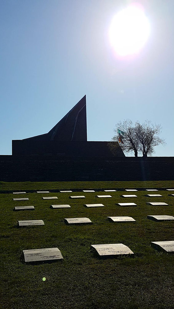 Futa Pass  - German War Cemetery April 2018