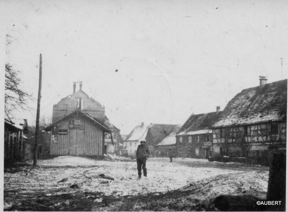Jebsheim after ther Battle (Photo courtesy Philippe Aubert)