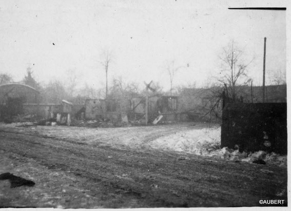 Jebsheim after the Battle (Photo courtesy Philippe Aubert)