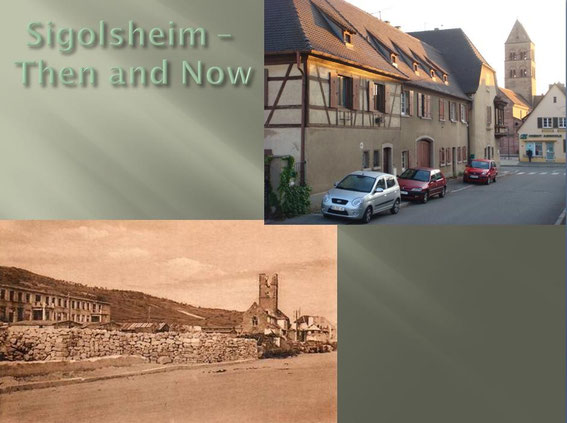 Saint Pierre et Saint Paul Church Then and Now