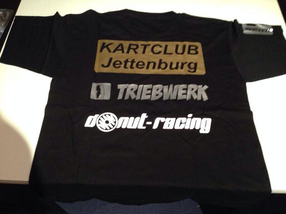Club-T-Shirt 2014 KARTCLUB Jettenburg