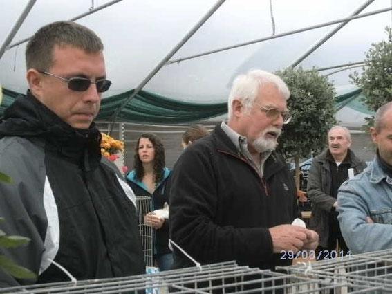 Frank Gessner + Heinz Keller+ rechts Alois Fuchs