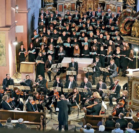 SV Mellrichstadt / Kammerchor MPG - Deutsches Requiem - Johannes Brahms, Leitung: Heinz Pallor -2017