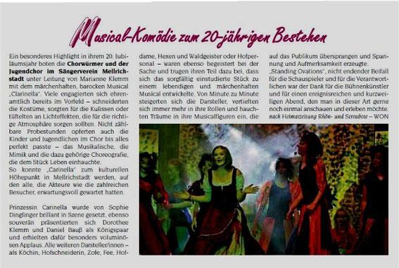 Musical Carinella - 2009
